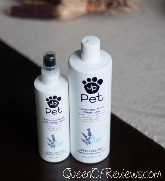 John Paul Pet Lavender Mint Shampoo Lavender Mint Detangling Spray