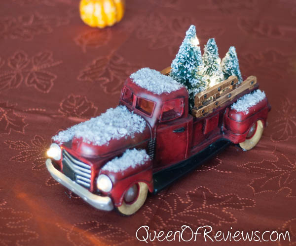 Light Up Christmas Tree Delivery Truck