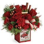 Teleflora's Merry Vintage Christmas Bouquet