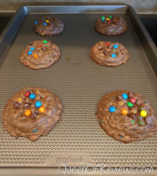 Cookies on GoodCook sheet pan