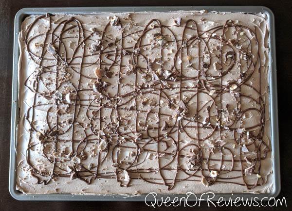 Hazelnut Cake in Sheet Pan