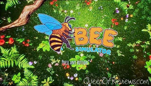 Bee Simulator Opening Screen