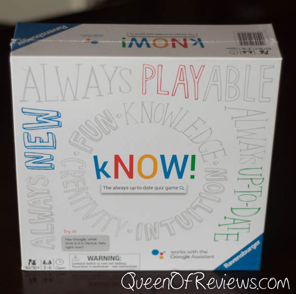 kNOW! Family Board Game,