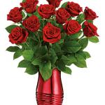 Teleflora's Rouge Romance Bouquet